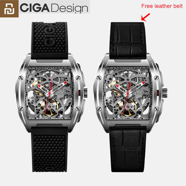 Youpin CIGA Design Z Series Mechanical Wristwatches Fashion Luxury Watch Watch Double Strap Artificial Sapphire Crystal23