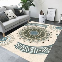 High Quality Abstract Flower Art Carpet for Living Room Bedroom Anti-slip Floor Mat Fashion Kitchen Area Rug  fur rug