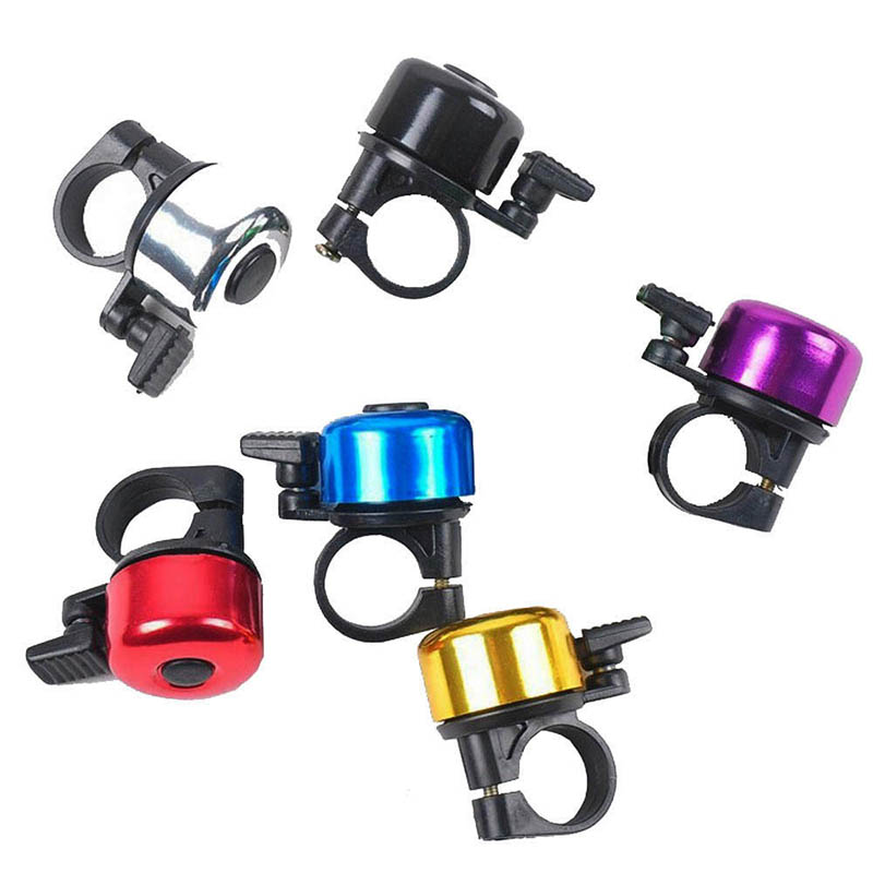 1 Pc Sport Bike Mountain Road Cycling Bell Ring Metal Horn Safety Warning Alarm Bicycle Outdoor Protective Cycle Accessories
