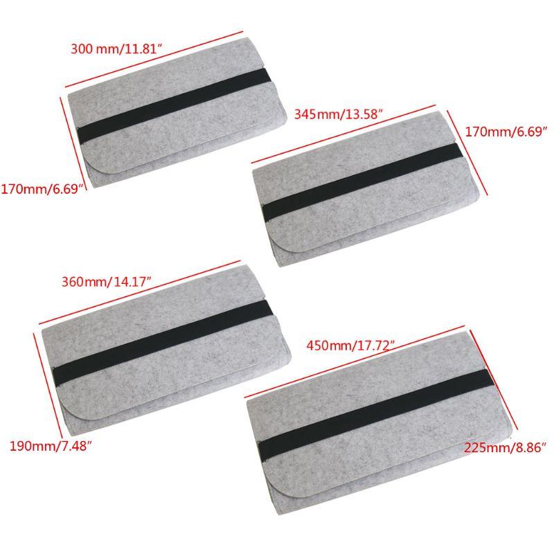 Portable Storage Organizer Felt Durable Pouch Dust Proof Mechanical Keyboard Bag 85WD