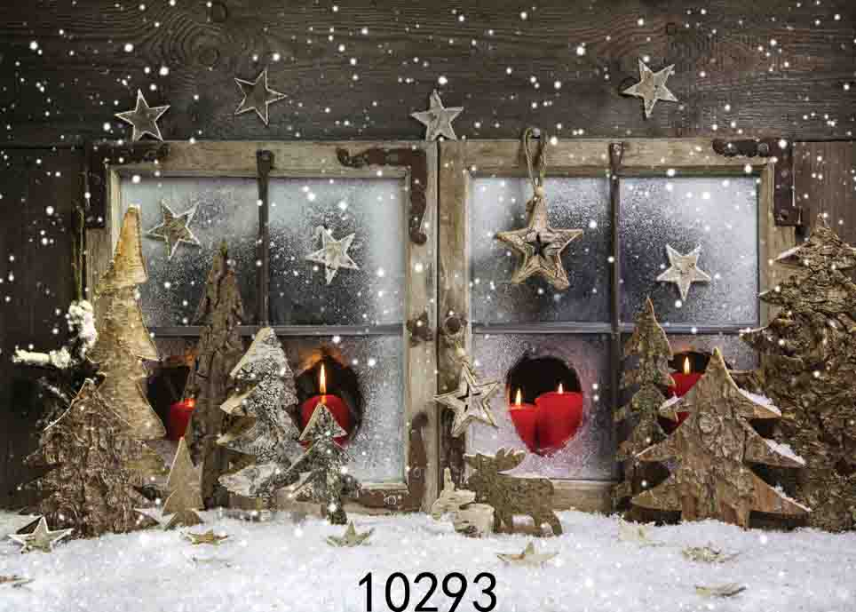 SHENGYONGBAO Vinyl Custom Photography Backdrops Prop Christmas day Christmas Tree Theme Photo Studio Background ST 04 in Background from Consumer Electronics