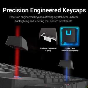 Image 5 - Redragon Teclado mecánico para Gaming K552 KUMARA, 87 teclas, retroiluminado, Rojo