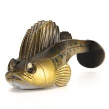 Vivid Sleeper, приманка для охоты, рыбалки, свинцовая приманка, Мягкая приманка для джига, темная приманка для окуня, приманка для ловли рыбы, Новинка