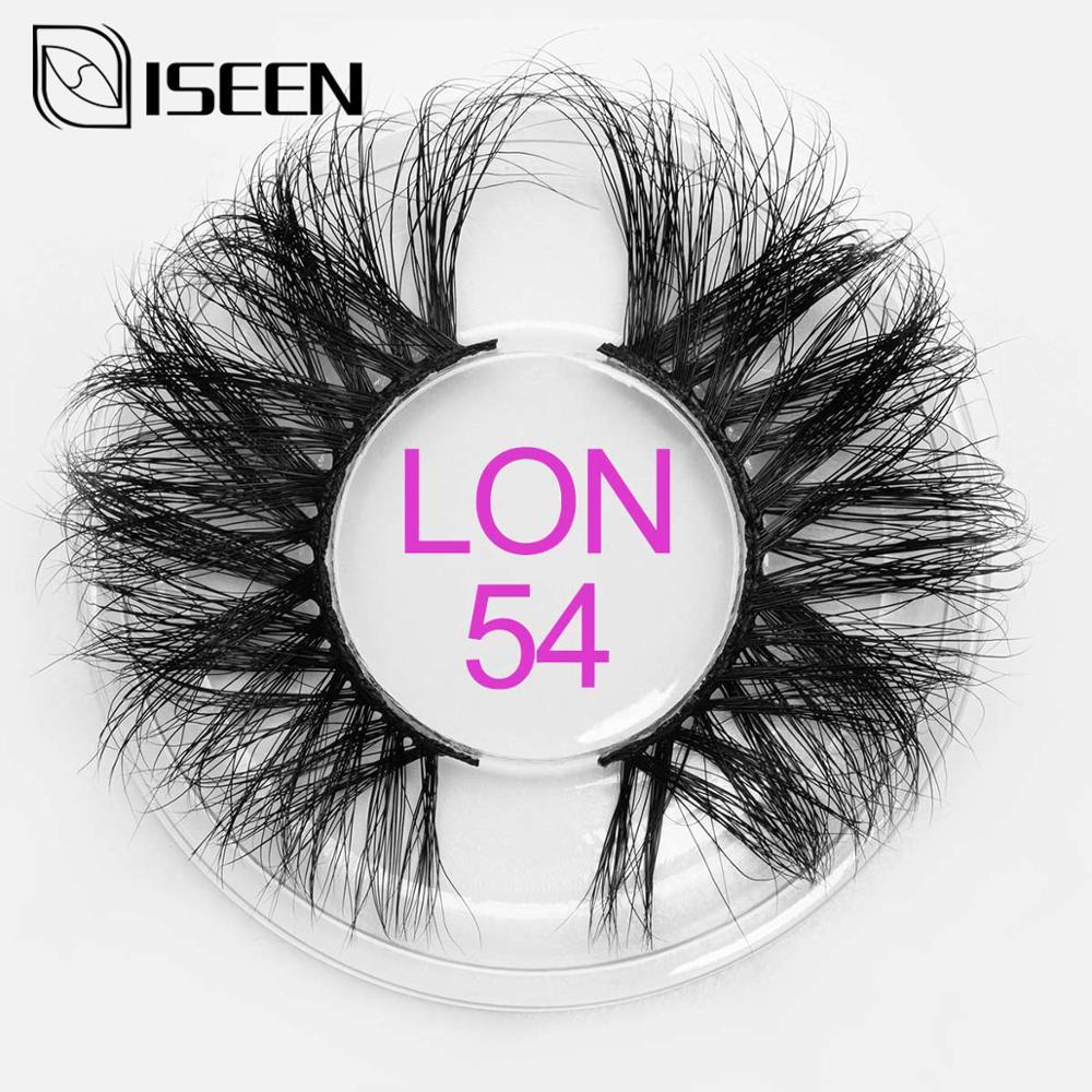 25mm Mink Eyelashes Cruelty Free False Eyelashes Crisscross Natural Fake Lashes Makeup 3D Mink Lashes Extension Soft Eyelash