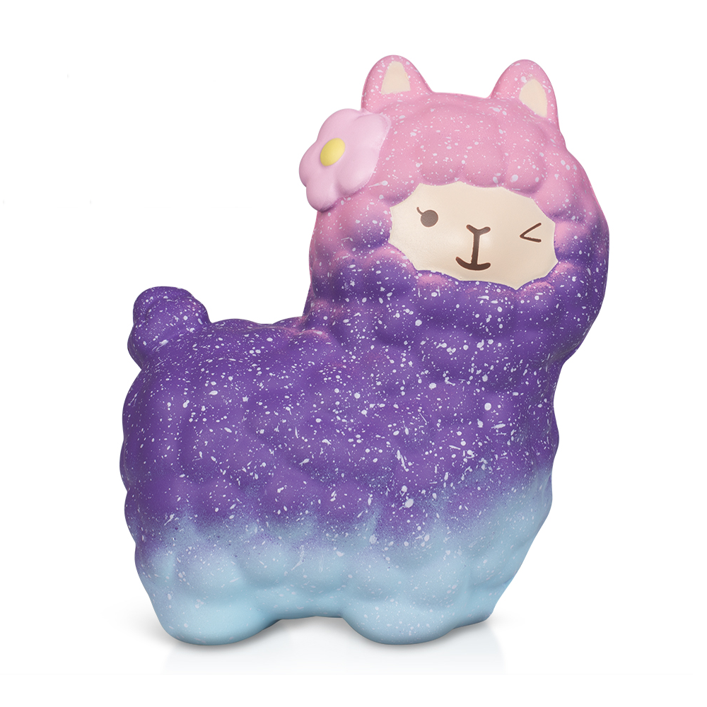 Kawaii Sheep Squishy Simulation Soft Slow Rising Squeeze Toys Cream Scented Stress Relief Fun Toys For Kids Gift
