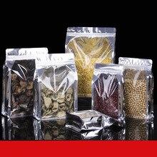 50pcs/lot Aluminum Foil Organ Self Seal Bag Snack Candy Sugar Nut Eight Side Self-sealing Bag Plastic Packaging Bag Logo Made юбка self made self made mp002xw19hqw
