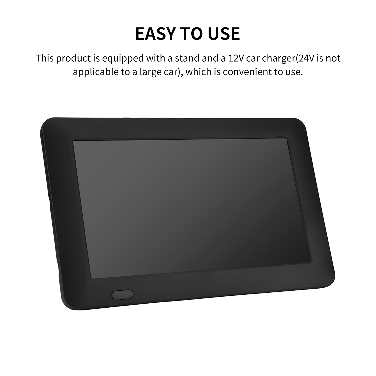 9 Inch HD Portable Digital TV DVB-T2 ATSC ISDB-T TDT Analog Mini Small Car Television Support USB SD Card MP4 AC3 19