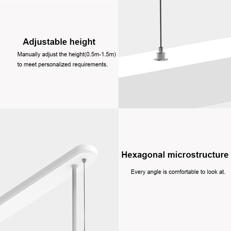 YEELIGHT Smart pendentif LED lumière dîner lampe colorée atmosphère lumière réglable luminosité Ra95 CRI 1800lm soutien App contrôle - 5