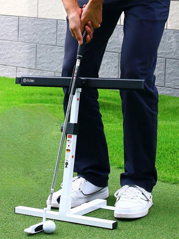 Teaching Equipment For Golf Putting Training Aid Height Adjustable For Golf Posture Corrector For Improving Putting Ability