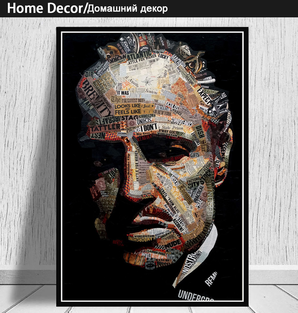 EB001 Godfather Movie Gangster Mafia Mob Poster and Canvas