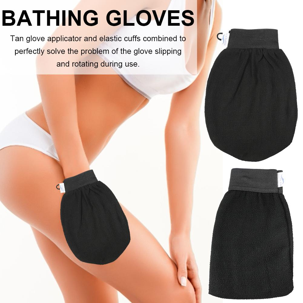 1PC Durable Exfoliating Mitt Scrub Glove Preparation Shower Scrub Gloves Body Facial Scrubbing Massage Mitt