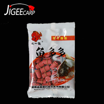 1 Bag Pellet Natural Bait With Band Feeder Granule Particle Soya Insect Protein