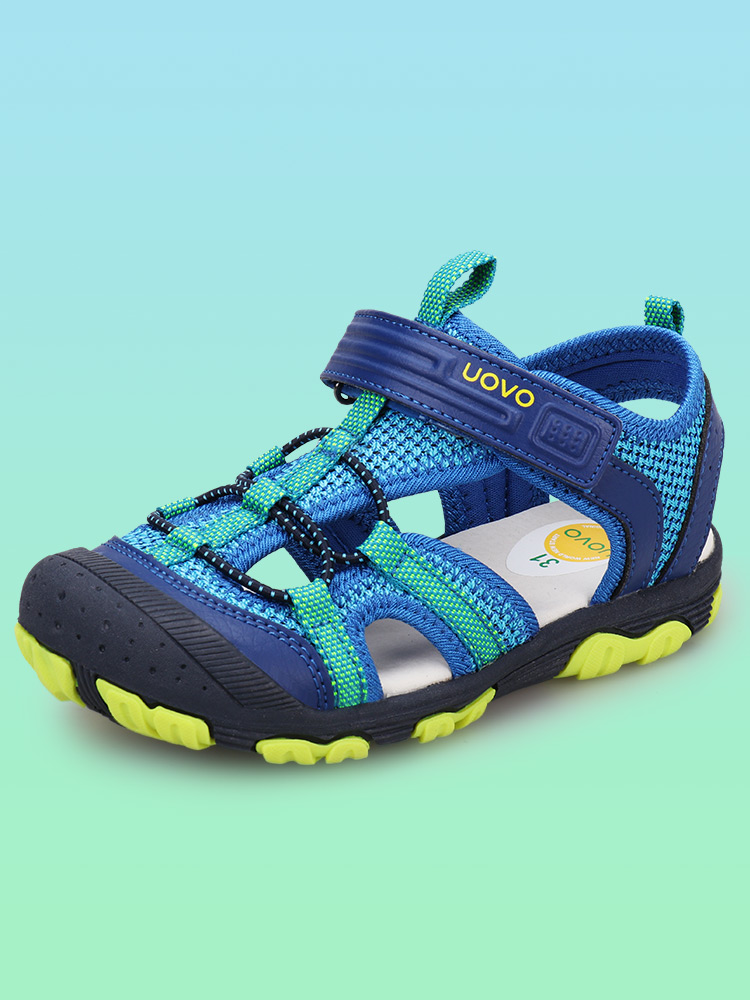 UOVO Boys Sandals Shoes Closed-Toe Sport Kids Summer New-Arrival Little for Big Eur-Size