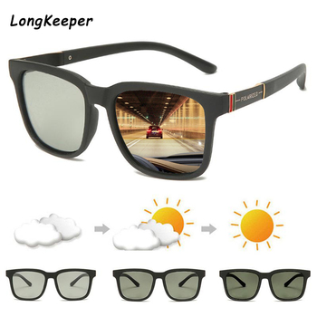 2020 New Brand Photochromic Sunglasses Men Polarized Driving Glasses Male Change Color Sun Glasses Driver TR90 Safty Goggles zxwlyxgx brand new polarized glasses men women fishing glasses sun goggles camping hiking driving eyewear sport sunglasses