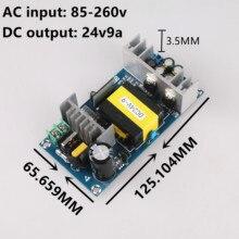 AC 100-240V to DC 24V -9A Power Supply Module Board Switch AC-DC Switch Power Supply Board