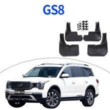 Lsrtw2017 Abs coche guardabarros para rueda de barro guardia Fender Protector para Trumpchi Gac Gs8 2017, 2018, 2019, 2020, 2021 accesorios de Auto