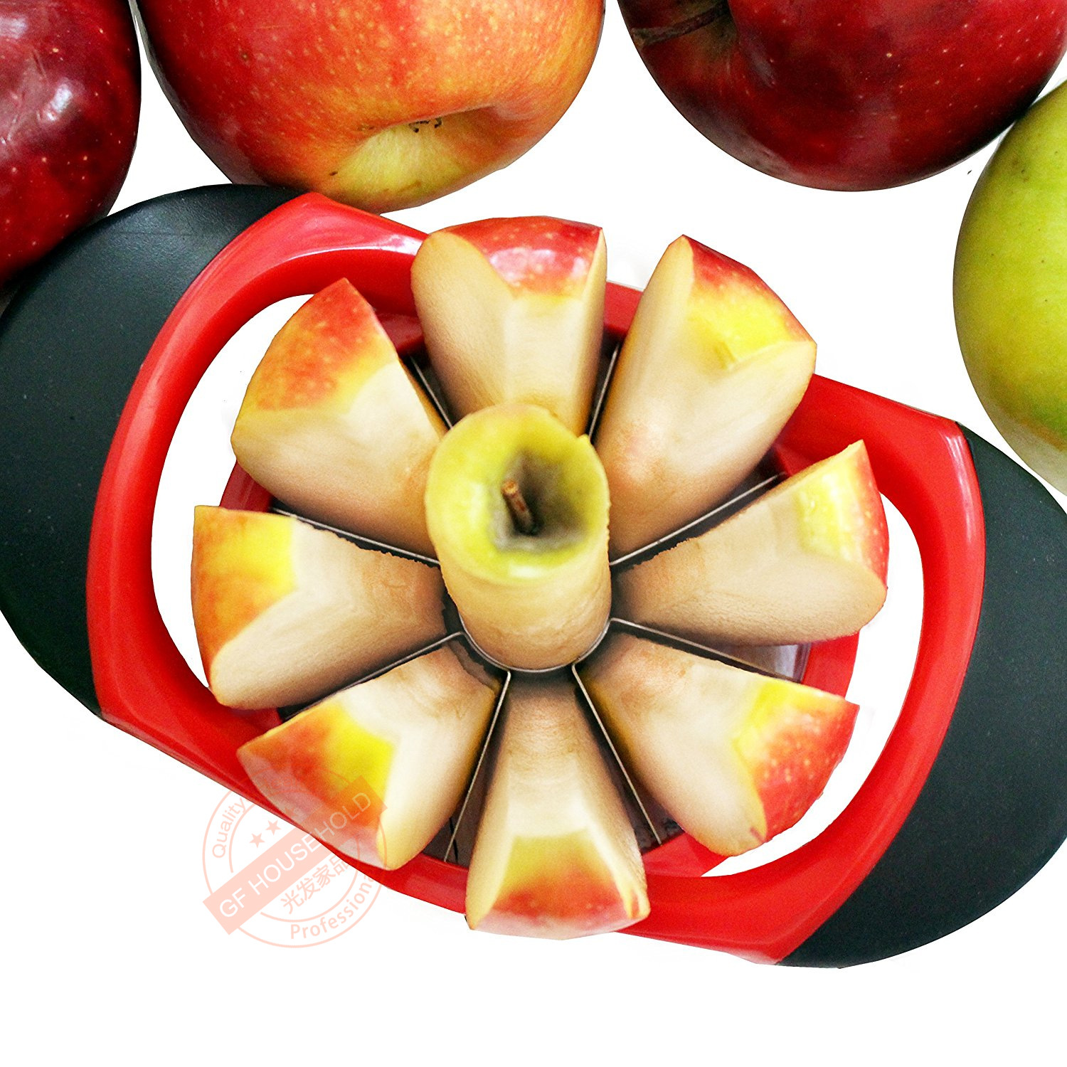Amazon Stainless Steel Coring Knife From Your Apple Fruit-cuttng Device Fruit Splitter Apple Slicer