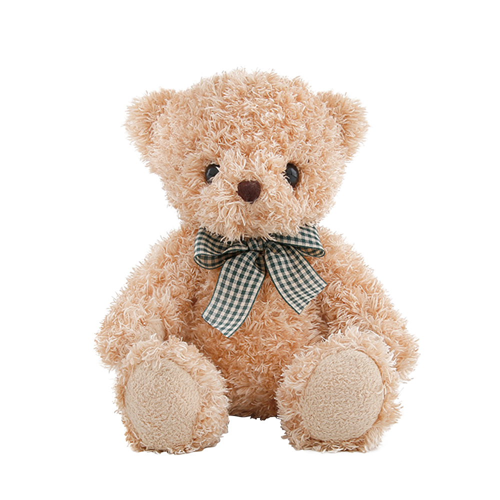 20CM Cute Plush Teddy Bear Doll Stuffed Animal Plush Toys Retro Doll For Kids Baby Christmas Birthday Gifts New Dropshipping