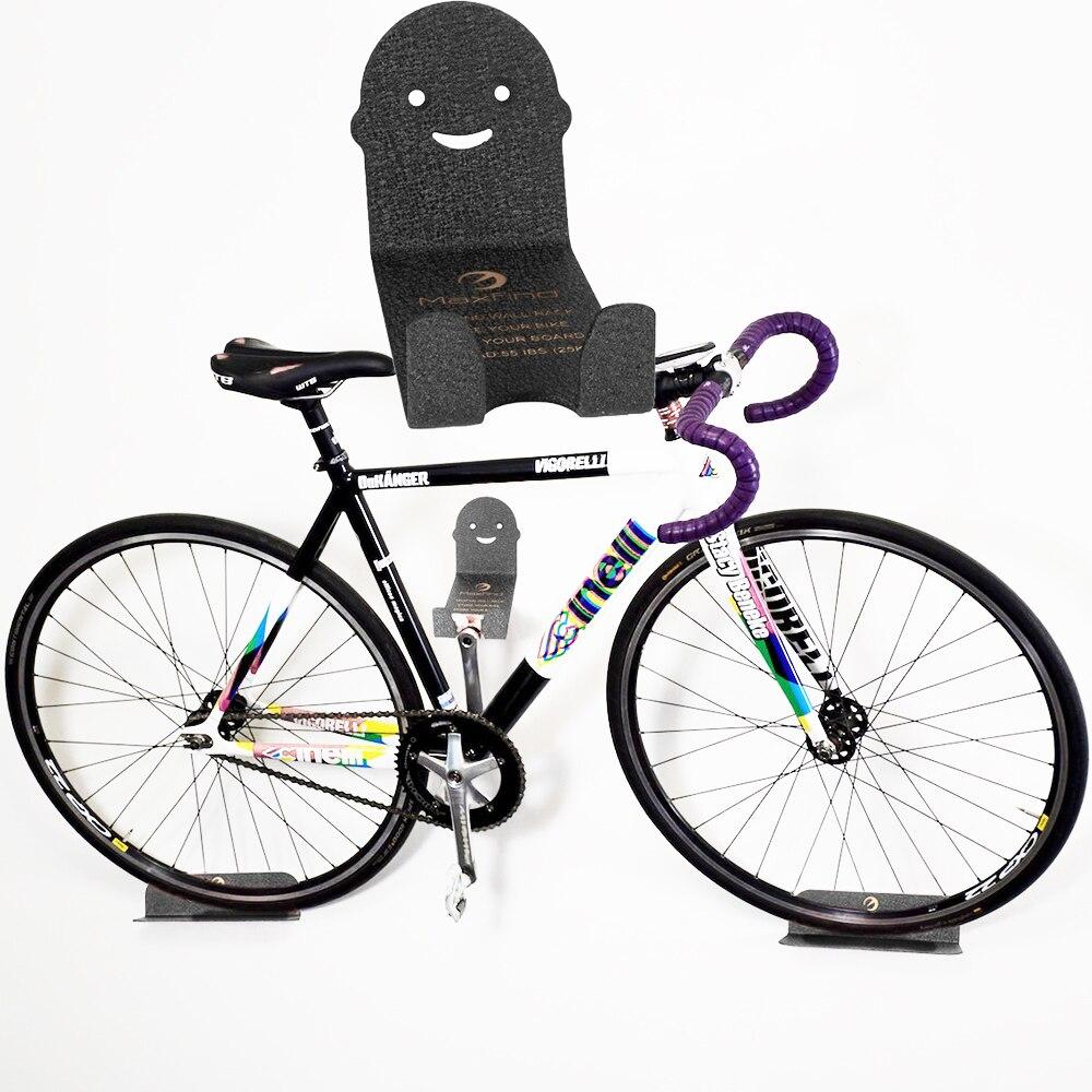 Вешалка для велосипеда настенное крепление для хранения педали велосипеда стальная стойка Вешалка Поддержка Максимальная нагрузка 100 кг А...