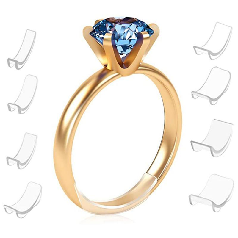 Силиконовое невидимое кольцо 8 размеров s, регулятор размера кольца, регулирующая Подушка, пружинный маленький редуктор артефакт, кольцо ра...