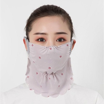 Women Outdoor Sports Bandana Scarf Headwear Hang Ear Face Mask Riding Camping Cycling Running Hiking Scarf Drop Shipping 1