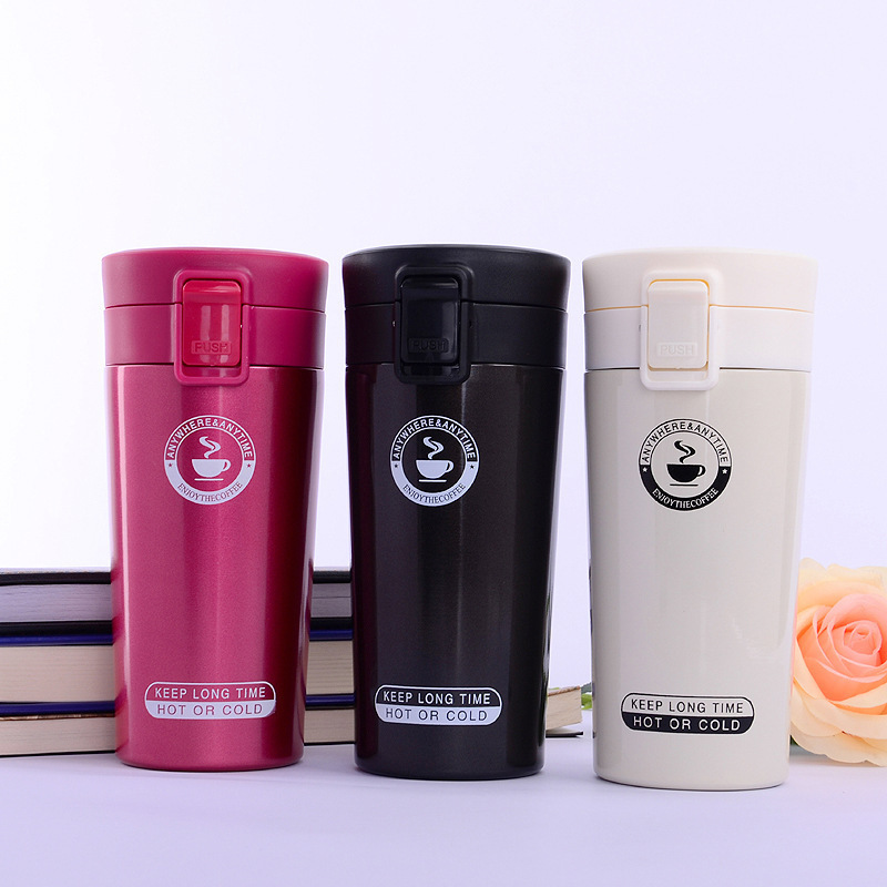 304 Stainless Steel Bounce Insulated Cup Outdoor Sports Glass Business Coffee Cup Gift|Sports Bottles| |  - title=