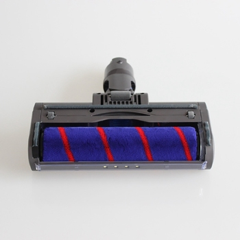 Absolute Fluffy Soft Roller Head Quick Release Electric Floor Head for Dyson V7 V8 V10 V11 Vacuum Cleaner Repair Parts 21 6v 4000mah li ion v7 battery for dyson v7 fluffy extra mattress trigger animal