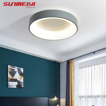 Nordic LED Ceiling Lights For Bedroom Kitchen Post Modern Lighting Ceiling Lamp Dimmable With Remote Creative Living room Light