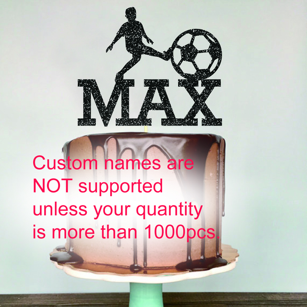 Cool Football Cake Topper For Name Max Kids Happy Birthday Party Funny Birthday Cards Online Bapapcheapnameinfo