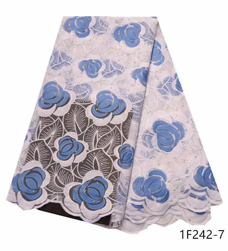 Najnowsza konstrukcja afryki koronki tkaniny haftowane koronki nigeryjskie tkaniny wysokiej jakości francuski tiul koronki tkaniny dla kobiet sukienka 1F242