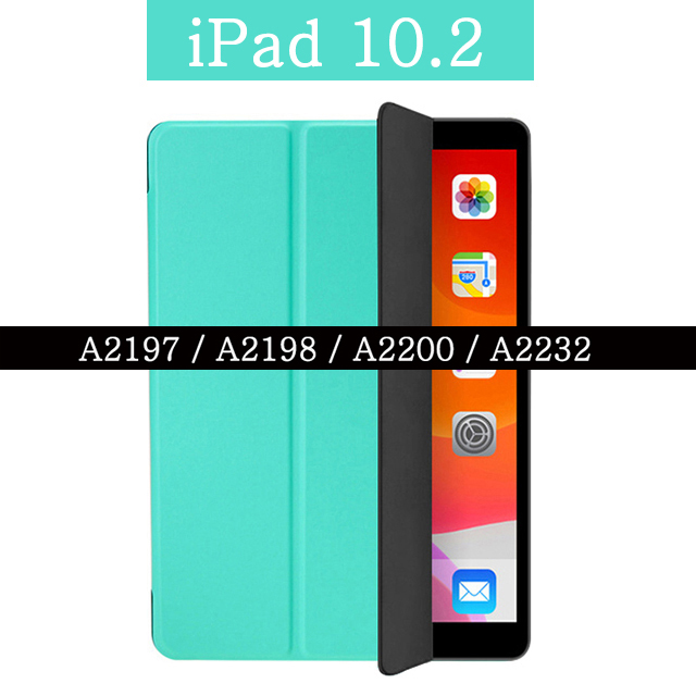 For iPad 10.2 Blue Magnetic Case for Apple iPad 7th 10 2 2019 A2197 A2198 A2200 A2232 WI FI PU