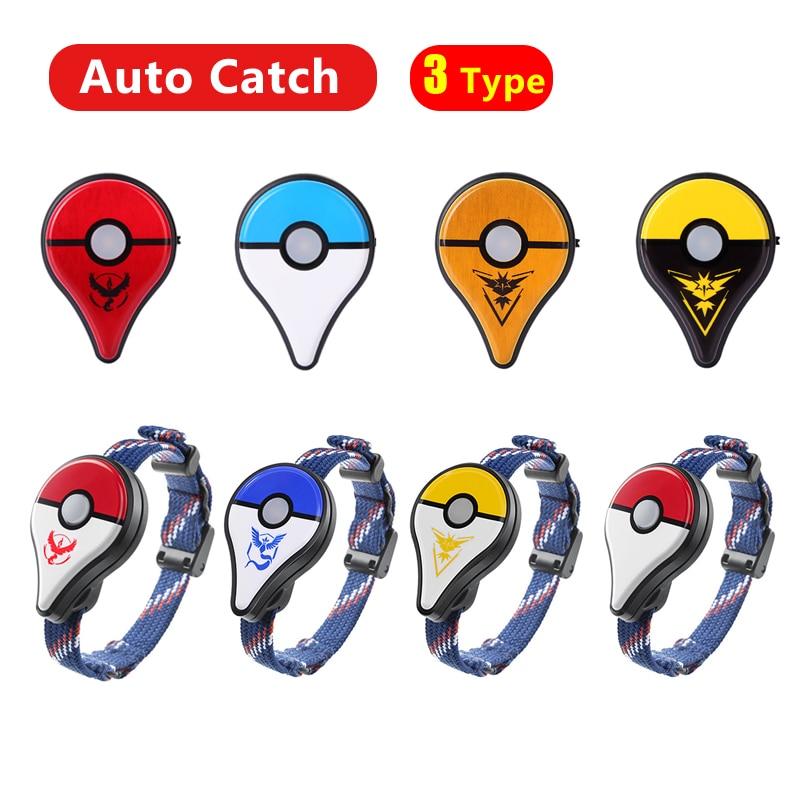 Auto Catch For Pokemon Go Plus Bluetooth Wristband Bracelet Watch For Nintendo Balls Smart Wristban For Pokemon GO Plus