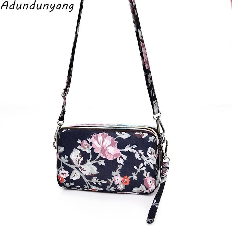 Wholesale Women Mobile Phone Bag Coin Purse Ladies Long Wallet Fabric Shoulder Bag Clutch Bag
