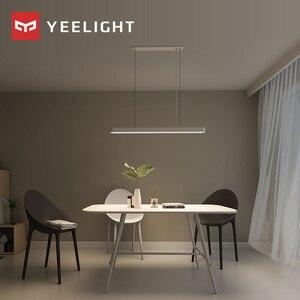 Image 4 - Original xiaomi mijia YEELIGHT Meteorite LED Smart Dinner Pendant Lights smart Restaurant chandelier work with for mi home app