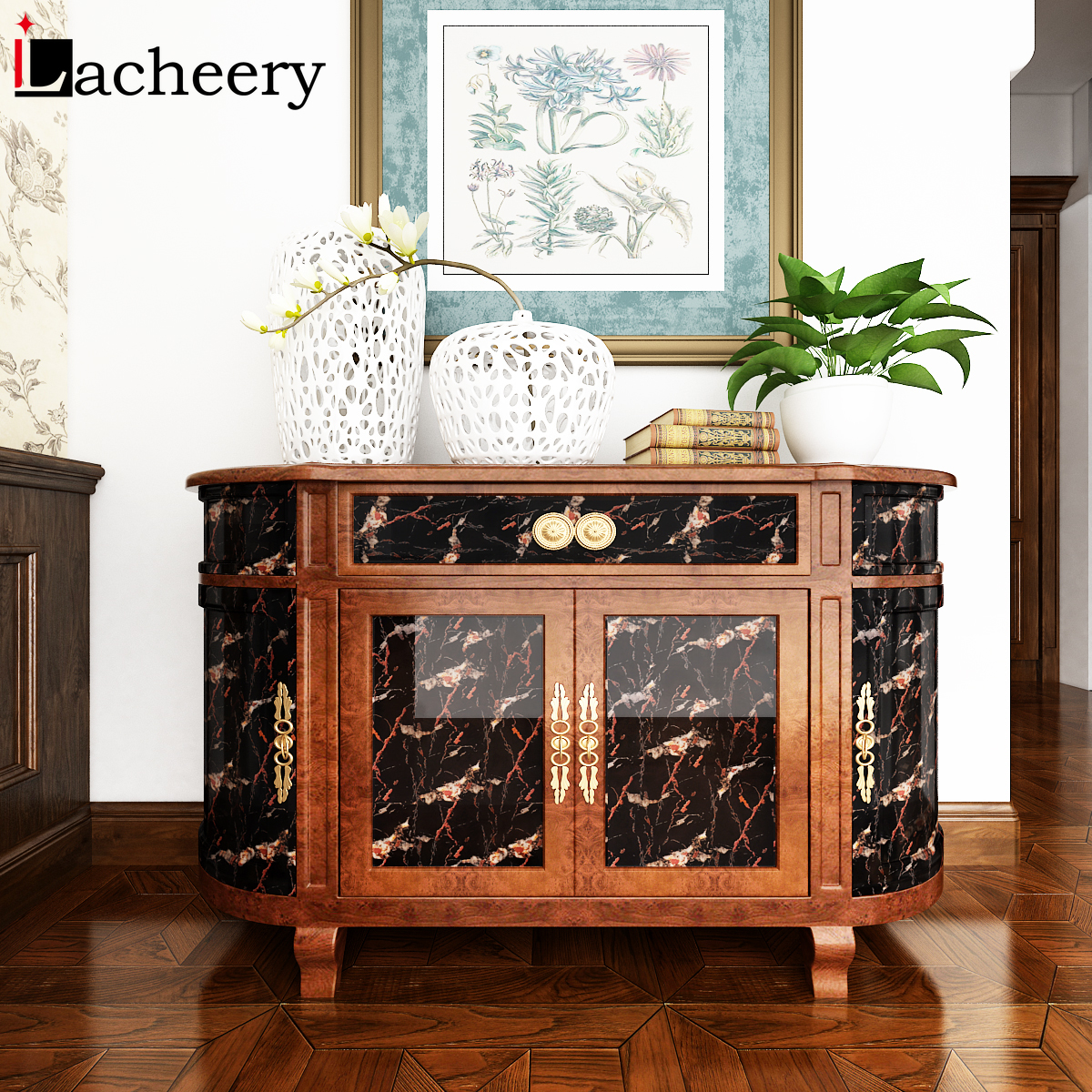 Modern Living Room Furniture Desktop Waterproof Marble Wallpaper Vinyl DIY Self Adhesive Contact Paper Dining Table Home Decor