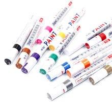Diy arte design escola à base de água marcador caneta pintor highlighter à prova ddiy água permanente tinta caneta mão-desenhada escrita