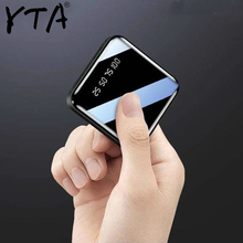 Mi ni power Bank, 30000 мА/ч, для iPhone X, Xiaomi mi, power bank, Pover Bank, зарядное устройство, два порта Usb, внешняя батарея, повербанк, портативный