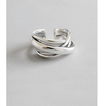 925 srebro pierścionki dla kobiet czeski regulowany geometryczny nieregularny pierścionki przesadzone nowość biżuteria S-R406 tanie i dobre opinie BFCLUB SILVER 925 sterling CN (pochodzenie) Kobiety NONE Grzywny Brak Nieregularne Klasyczny Zespoły weselne Rocznica