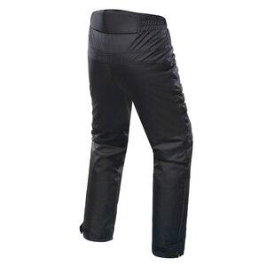 Image 2 - Pantaloni da Moto DUHAN pantaloni da Moto fuoristrada da Moto invernali a prova di freddo pantaloni protettivi da Moto con fodera in cotone