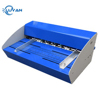 Blue New 18inch 460mm Electric Creaser Scorer Perforator 3 in 1 combo Paper Creasing Perforating 3 Function Machine