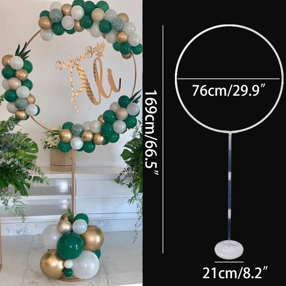 Новинка, круглые зеркальные держатели для воздушных шаров, украшение для детской вечеринки в честь Дня Рождения