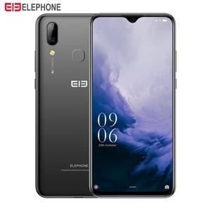 "Image 2 - Elephone A6 Max 4G Smartphone 6.53"" Drop Notch Screen Android 9.0 4GB 64GB MT6762V Quad Core 20MP Camera OTG NFC Mobile Phone"