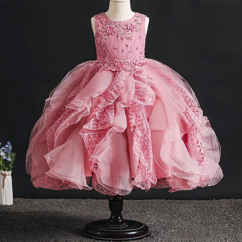 Cool Kids Flower Princess Dress For Girls Lace Cake Dresses Toddler Birthday Cards Printable Benkemecafe Filternl