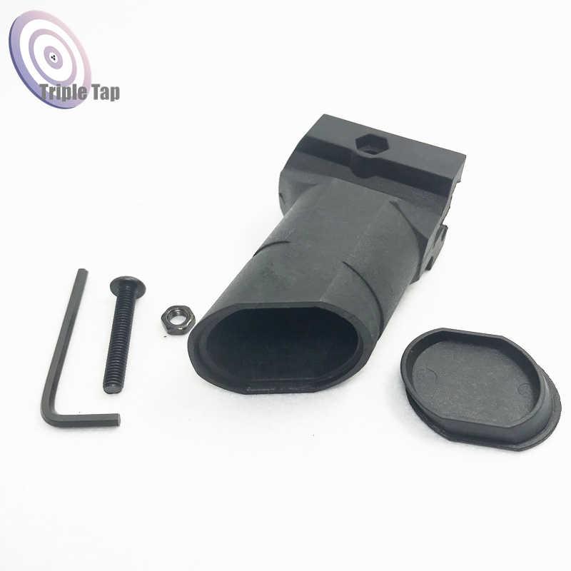 Tactical Paintball Airsoft Halter Vordere Vertikale Grip Für Airsoft BB Luftgewehr M4 AR15 Gewehr Polymer Grip Für 20mm Picatinny rai