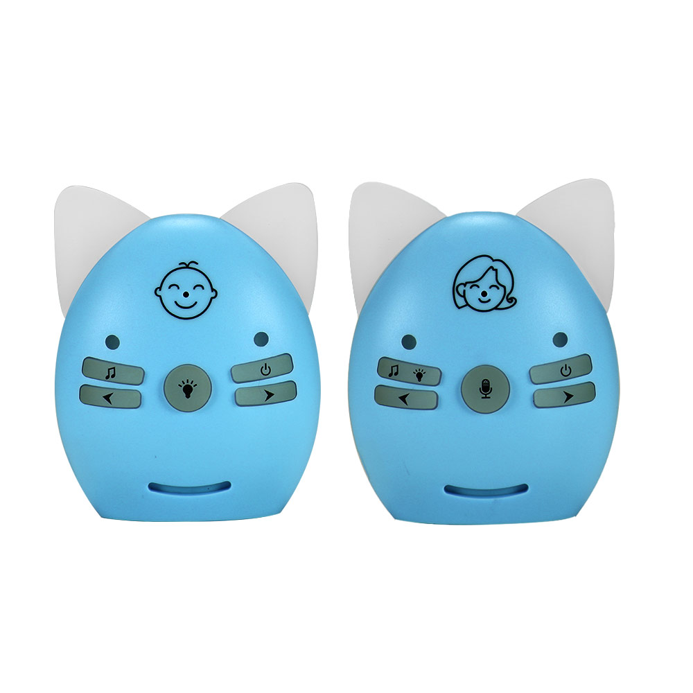 Wireless Infant Portable Digital Audio Baby Monitor Sensitive Transmission Two Way Talk Crystal Clear Cry Voice Sound Monitor