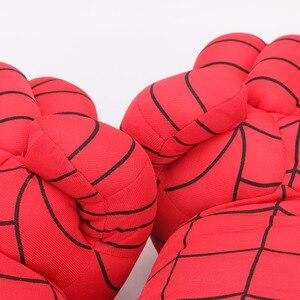 Image 5 - 33 سنتيمتر لا يصدق بطل الشكل اللعب قفازات ملاكمة الصبي قفازات