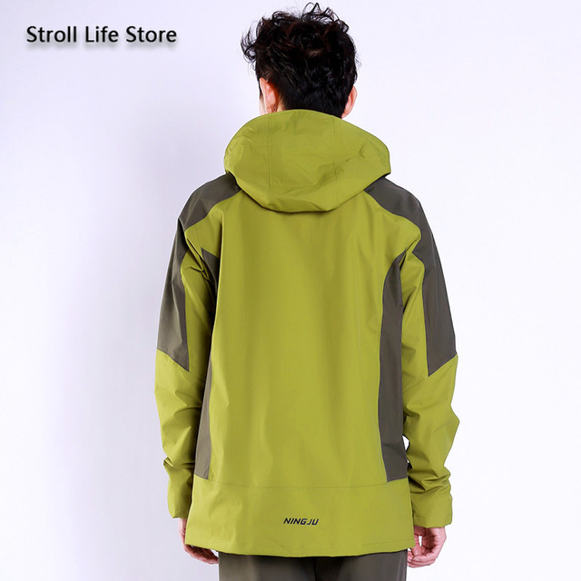 Adults Motorcycle Raincoat Rain Pants Set Breathable Waterproof Suit Rain Coat Jackets Mens Sports Suits Casaco Masculino Gift 1