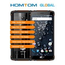 Homtom zoji z9 helio p23 octa core 5.7 인치 ip68 하트 쥐 스마트 폰 6 gb ram 64 gb rom 16mp cam 5500 mah 4g lte 휴대 전화