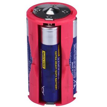# H30 równoległy uchwyt na baterię uchwyt na baterię DC 1 5V Case Box konwertuj 4 AAA na 1 C rozmiar DIY uchwyt na baterię Power Bank tanie i dobre opinie Ładowarka Akcesoria For BraunZ20 Z30 Z40 12V