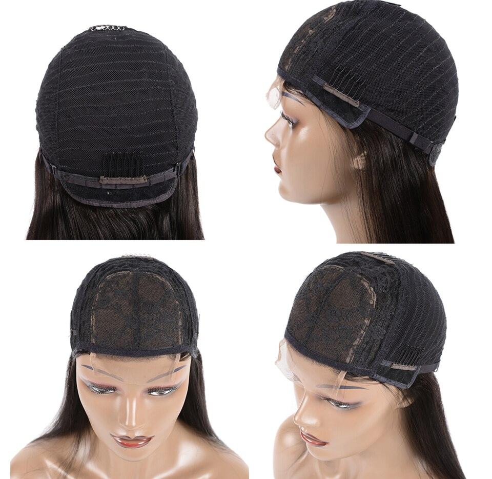 Hf52590b2d9754f2b8122a8253060cf1dK Karizma 4x4 Lace Closure Human Hair Wigs Remy Closure Lace Wigs Brazilian Hair Wigs Straight Lace Closure Wigs With Baby Hair